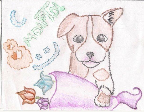 рисунок маме на 8 марта от дочки карандашом помогает заранее распознать