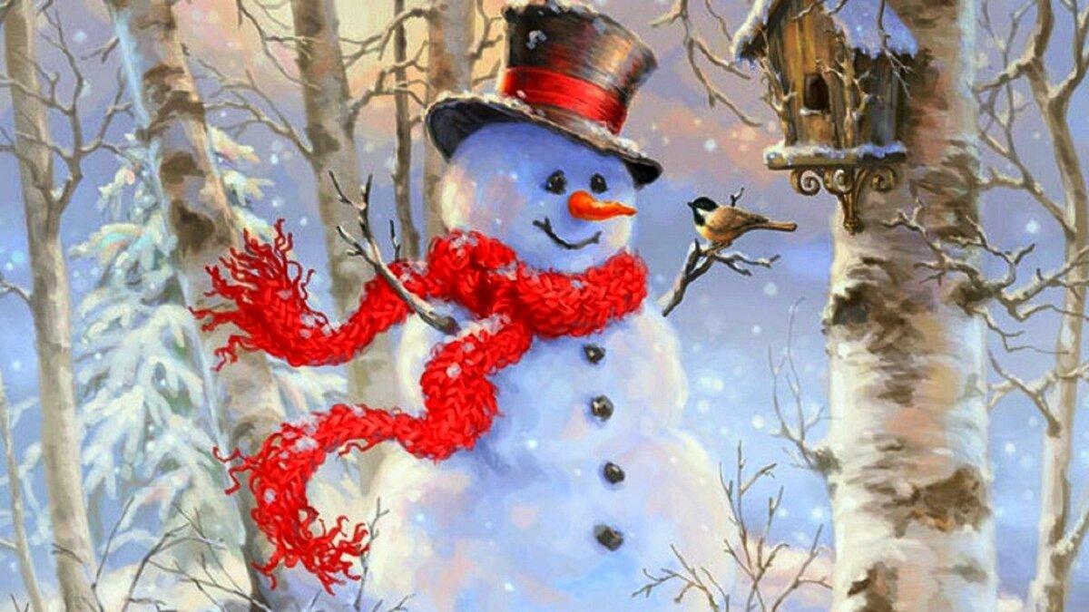 цель веселые картинки о зиме т морозе том как