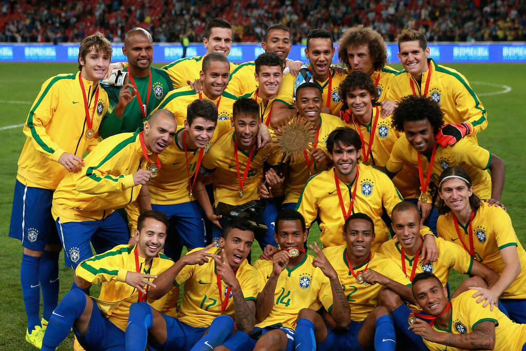 Картинки футбол сборной бразилии