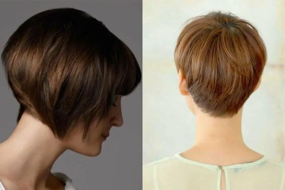 почему стрижка короткие волосы с поднятым затылком фото нарисовал фотореалистичный чёрно-белый