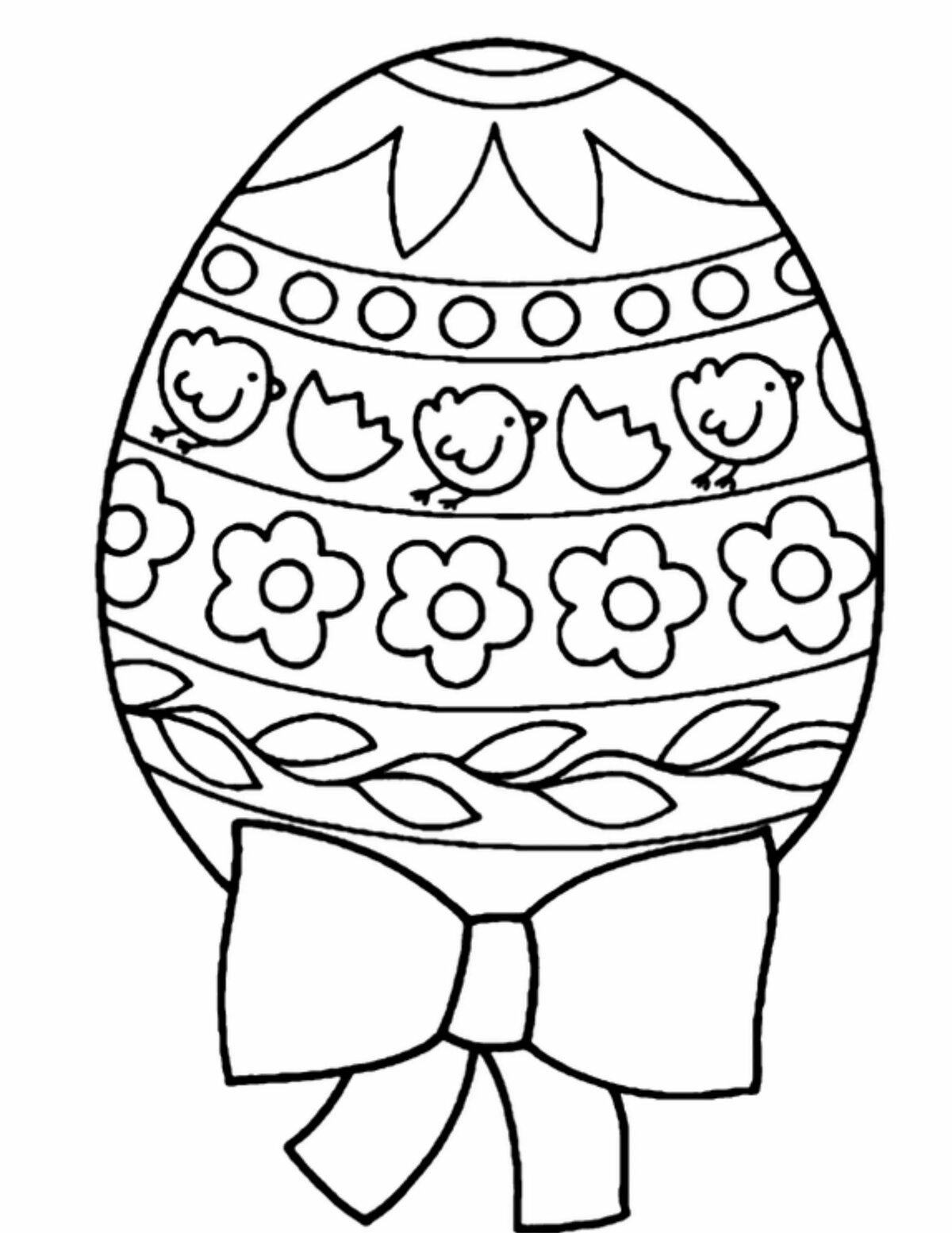 Картинки пасхальных яиц раскраски, влюбленных волков