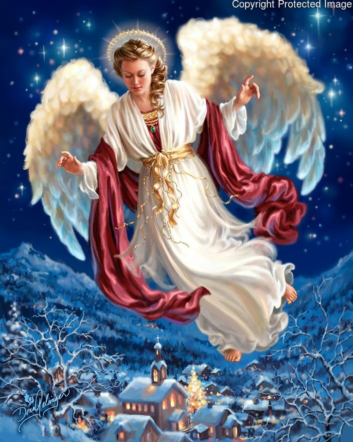 Тему человек, рождественские ангелы картинки красивые