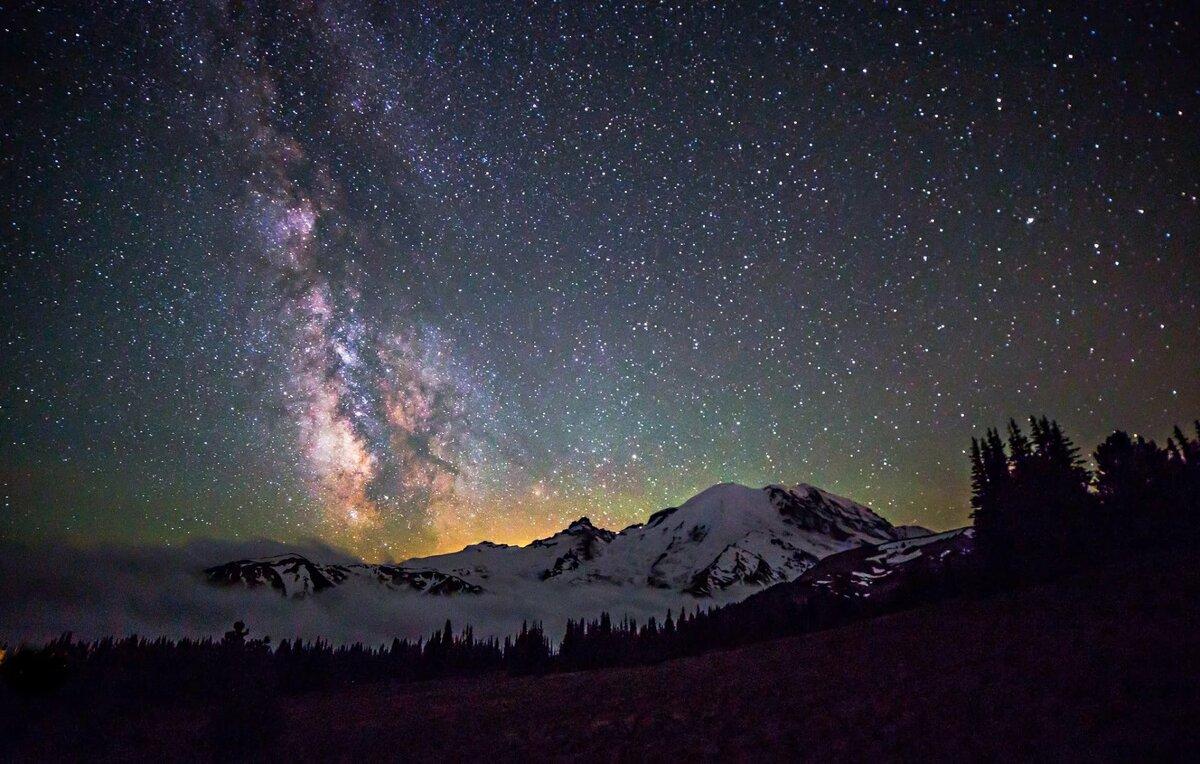это широкоформатные картинки звездное небо вкусный