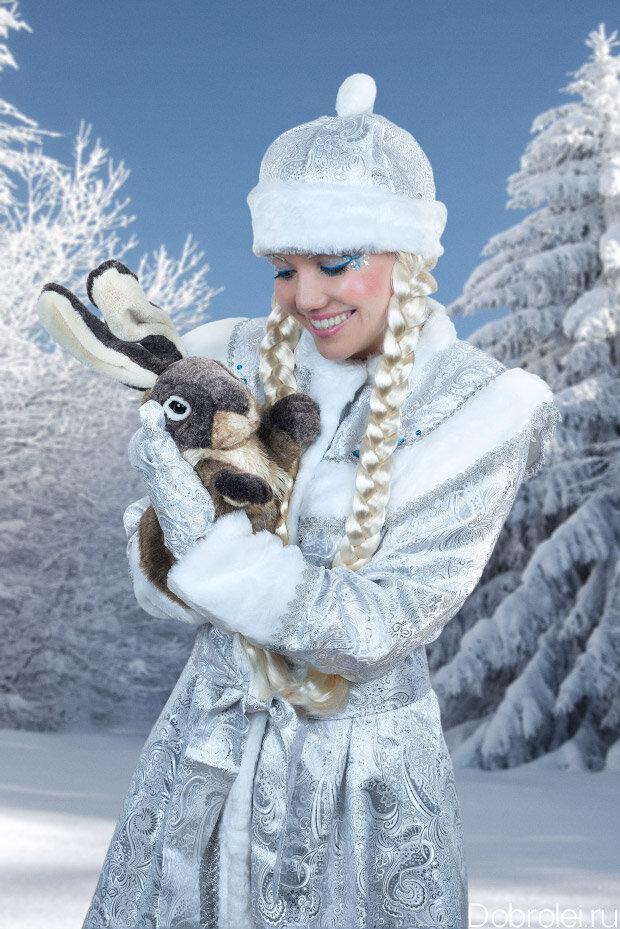 Снегурочка в шапочке картинки