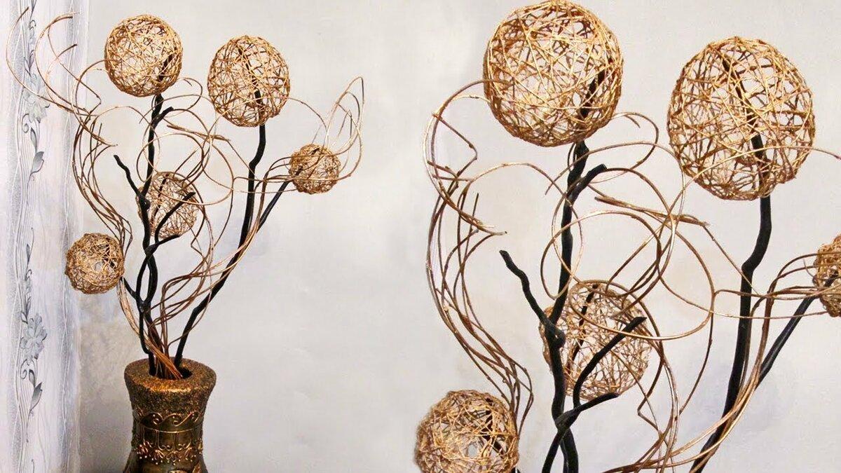прежде поделки из веток ивы своими руками фото таких растений