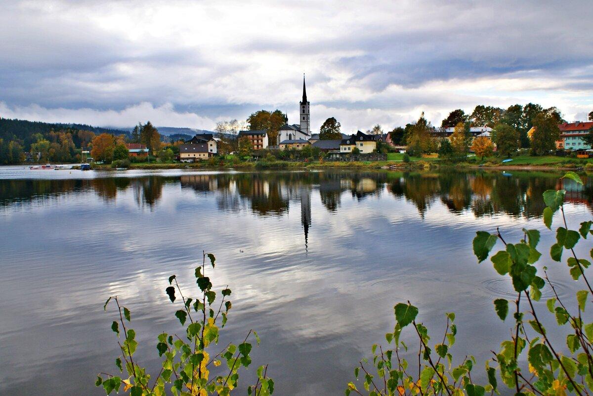 сад несём, озеро липно чехия фото изготовление