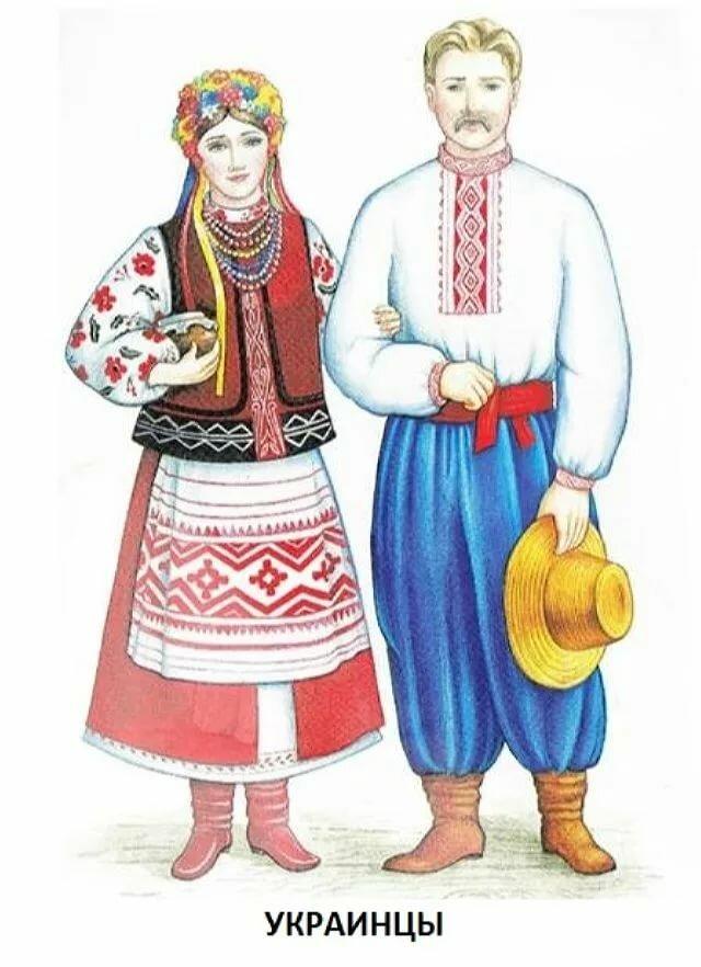 Дети россии в национальных костюмах картинки