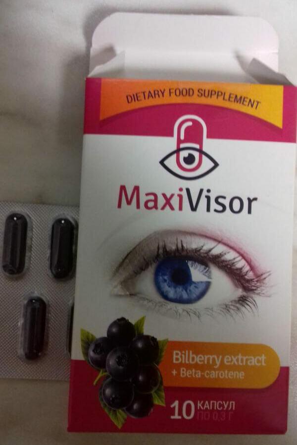 MaxiVisor для зрения в Корсакове
