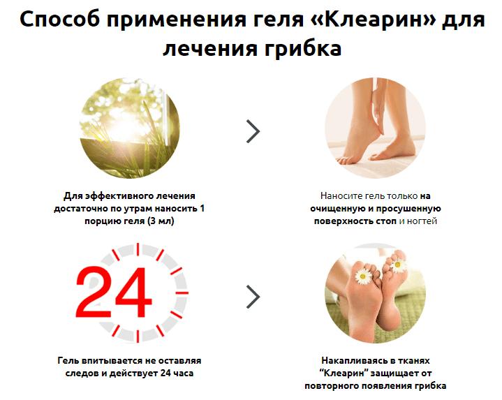 Клеарин от грибка в Якутске