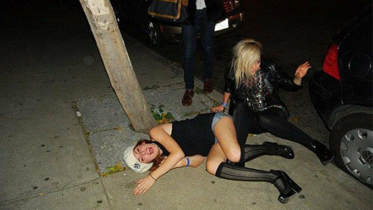 Смешные картинки пьяной женщины