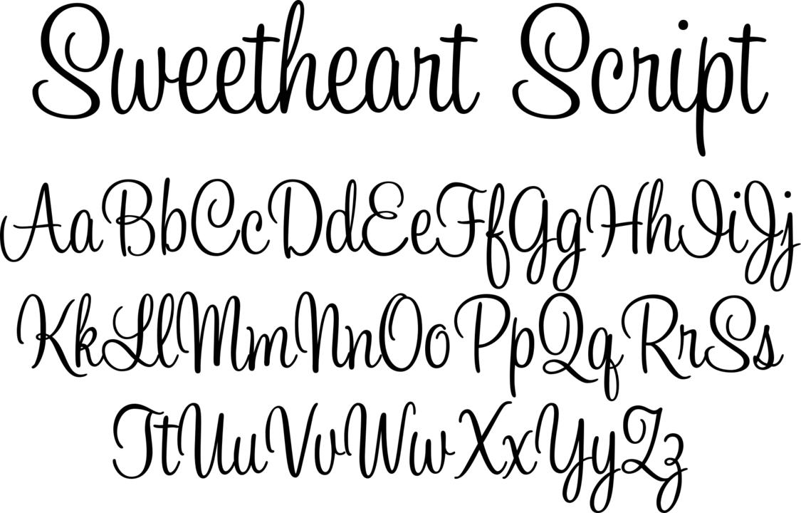 Красивые шрифты на английском в картинках
