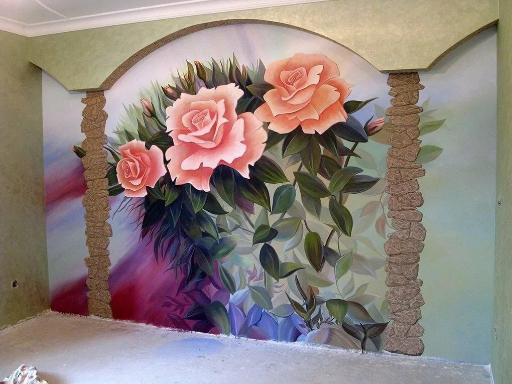 Расписанные стены картинки
