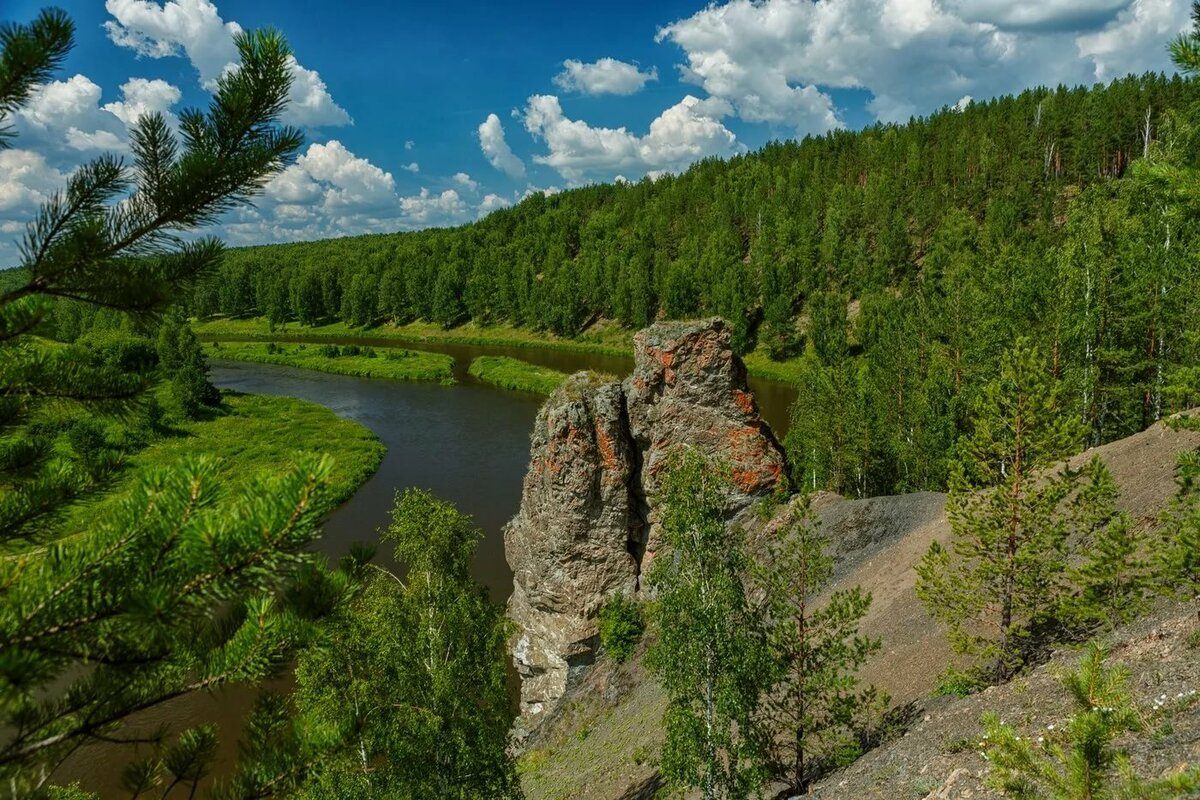 природа урала фото пейзажи южный