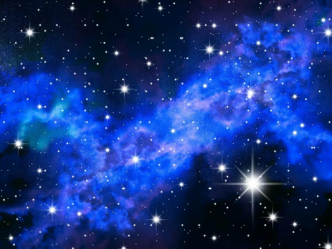 Картинка космическое небо для детей