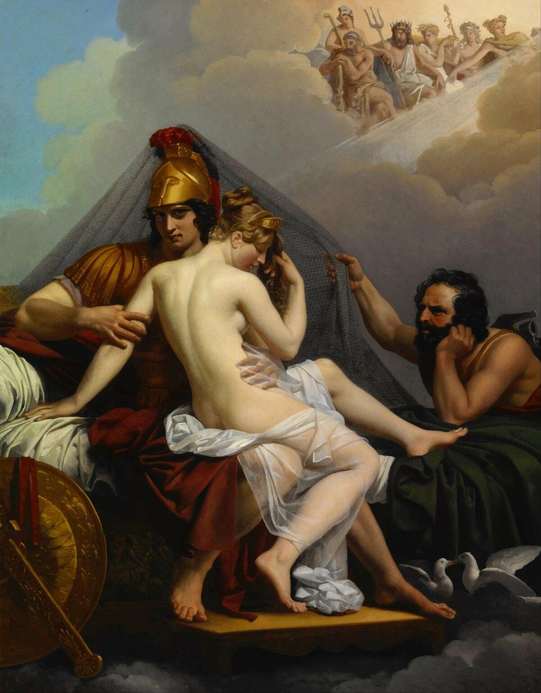 Греческие мифы в картинах художников