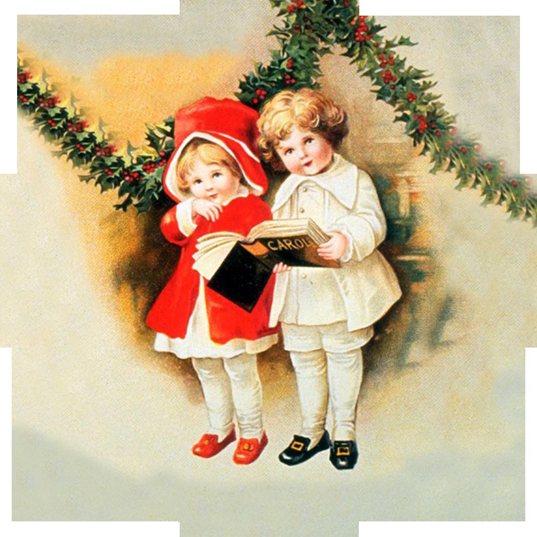 Картинки, винтажные картинки новый год и рождество