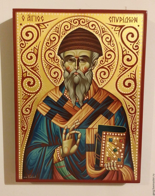Анимация иконы спиридон тримифунтский