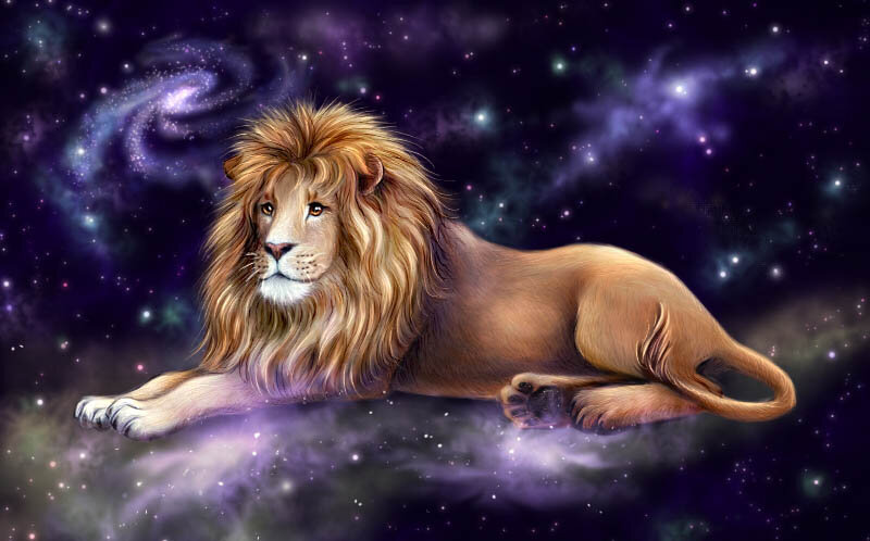 Картинка с днем рождения мужчине льву