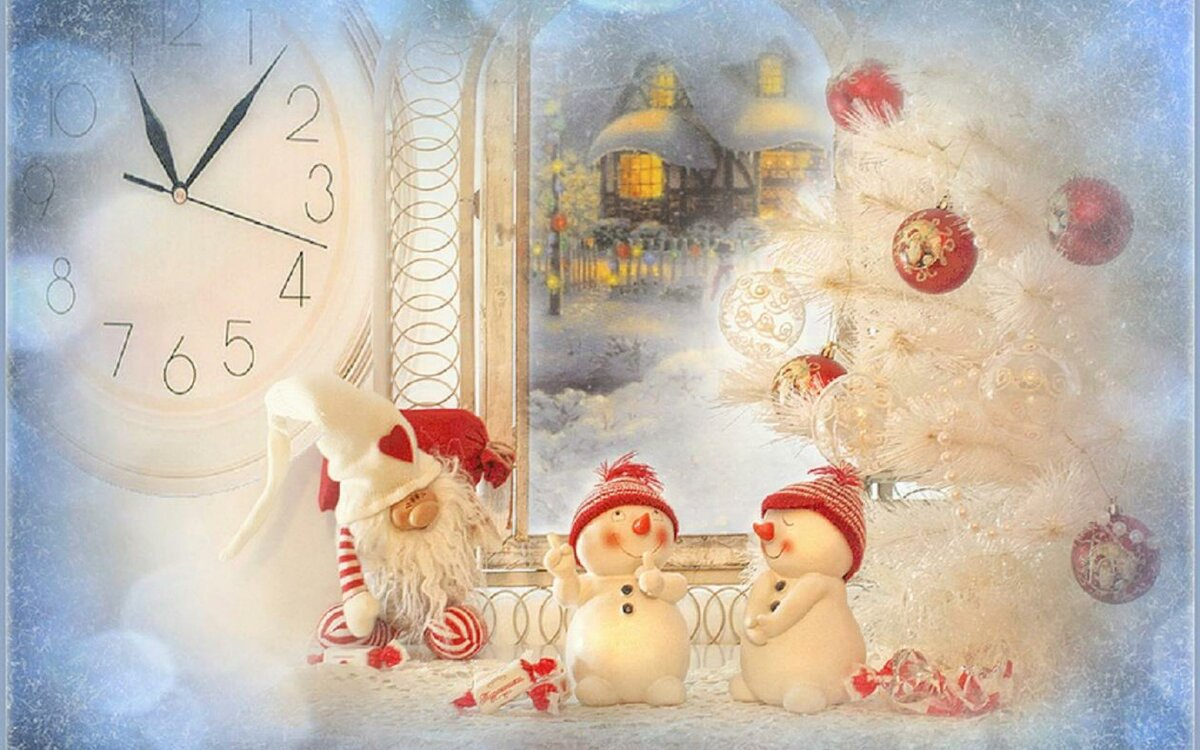 Для мальчиков, новогодние открытки в гостевую