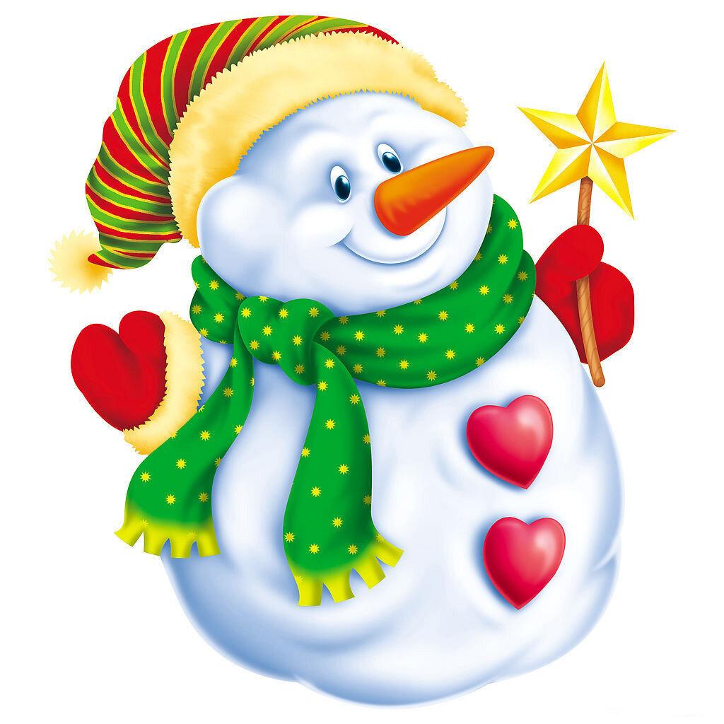 Снеговик картинки для детей