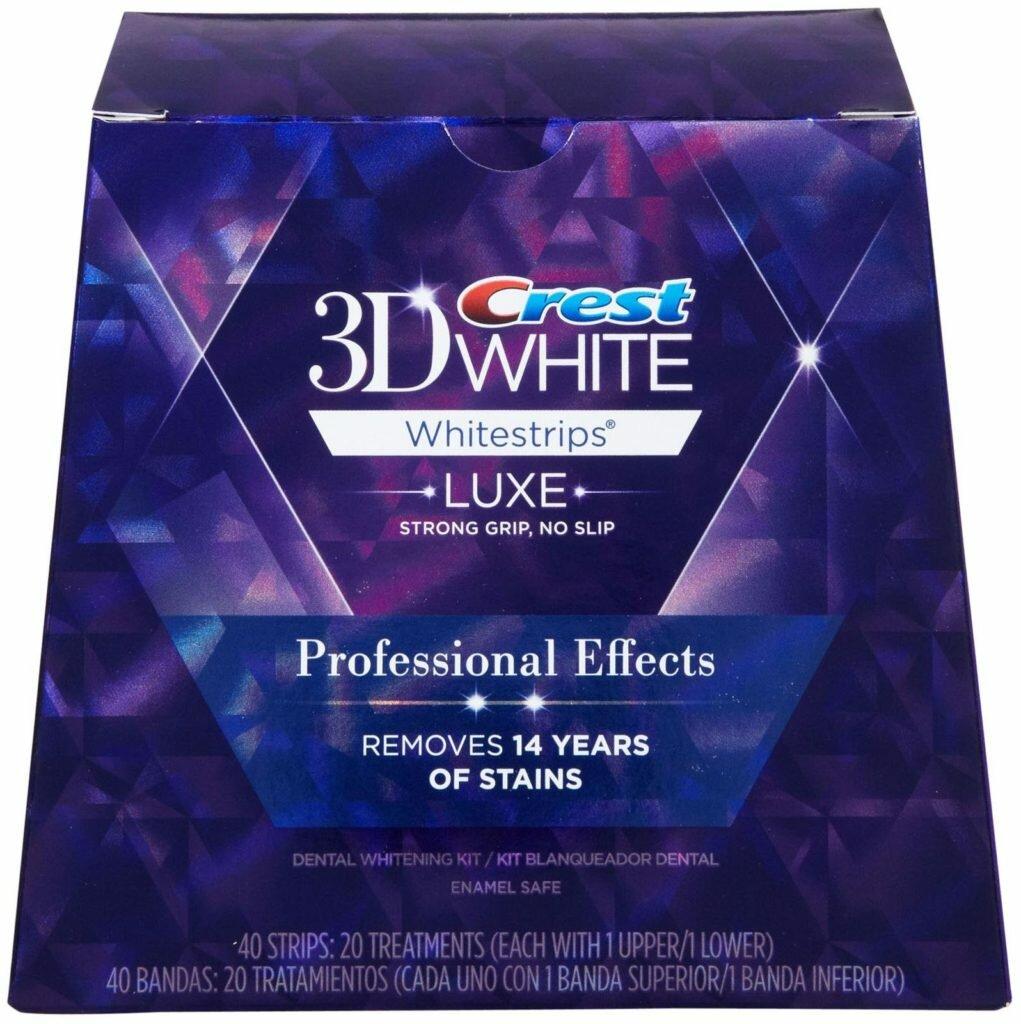 Crest 3D White отбеливающие полоски в Лугах