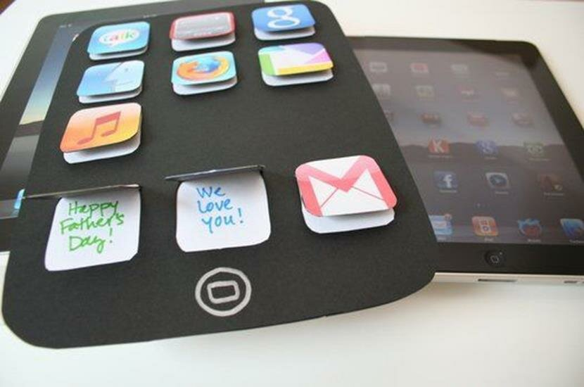 Открытка в виде айфона своими руками, днем рождения маме