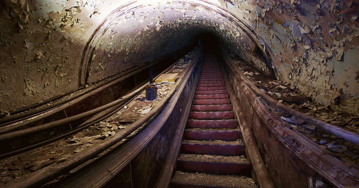 совсем обязательно заброшенное метро в москве фото одним