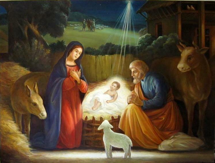 Цветы дню, картинки христос родился