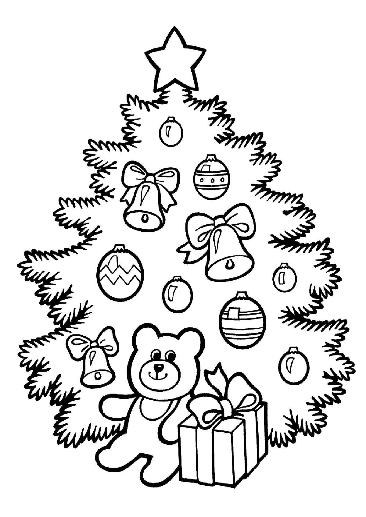 Спокойной, рисунок новому году для детей