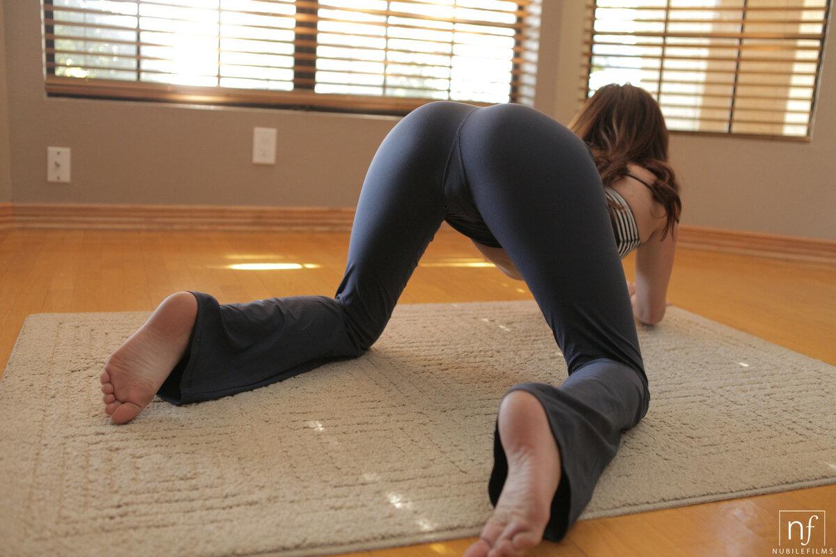 Clubland extreme yoga shorts girls pprn