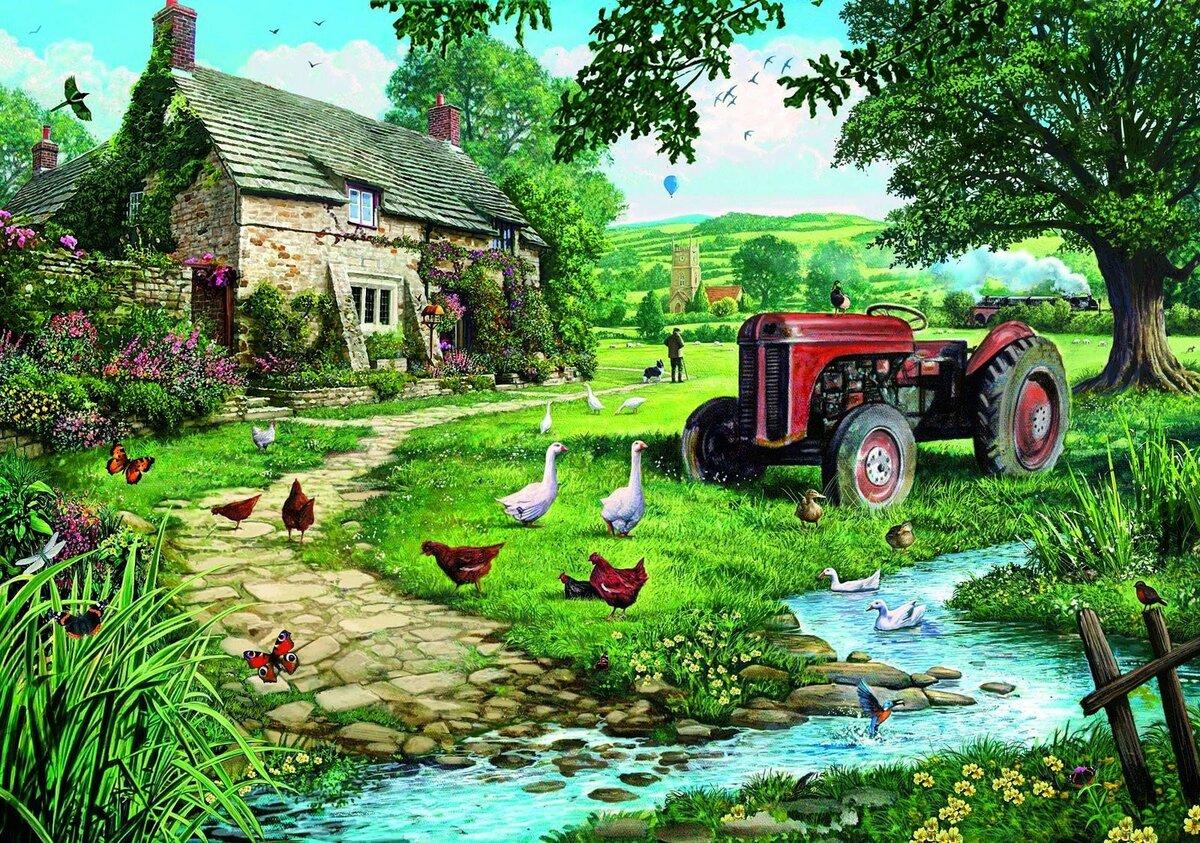Картинки с деревенской тематикой
