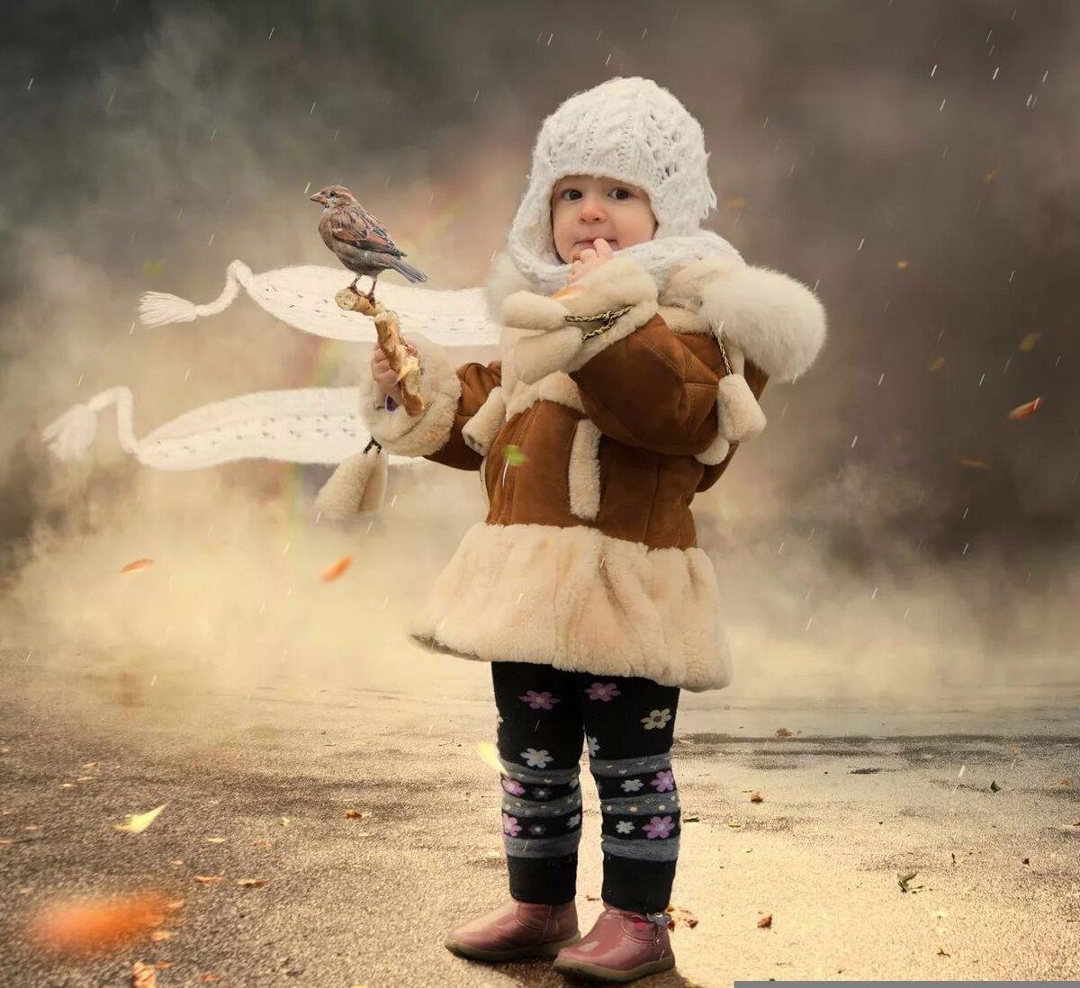 это происходит сюрреалистические детки фотографии помощью кабель-каналов смонтировать