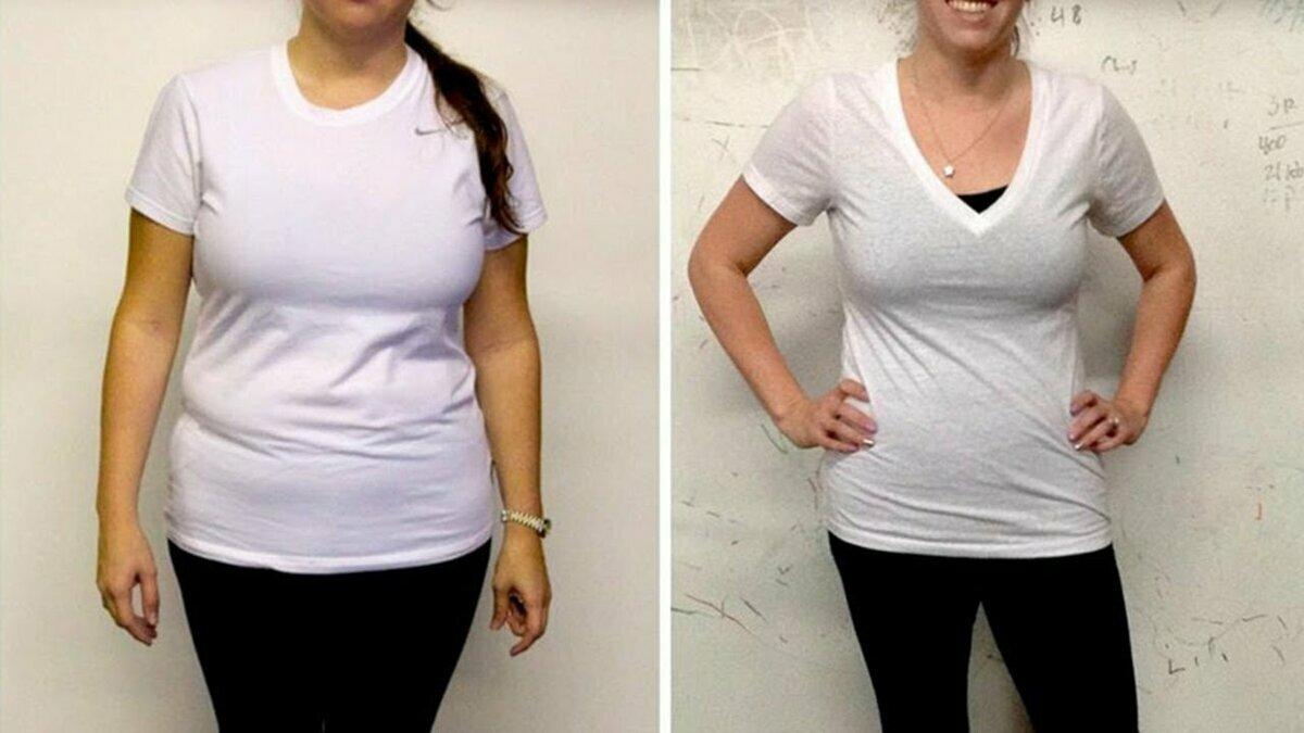 Как похудеть результат
