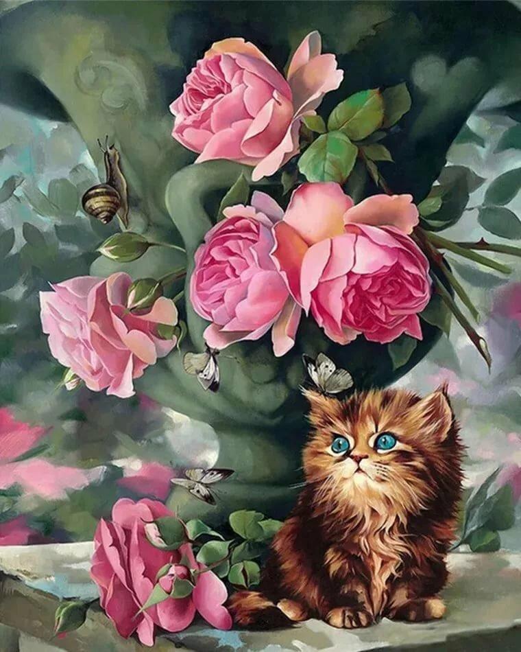 Красочные картинки открытки