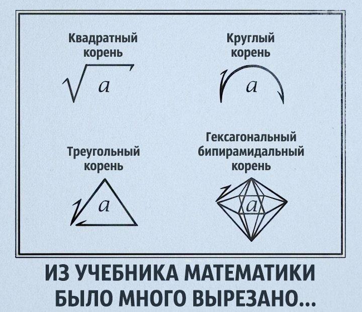 математики шутят картинки причина той самой