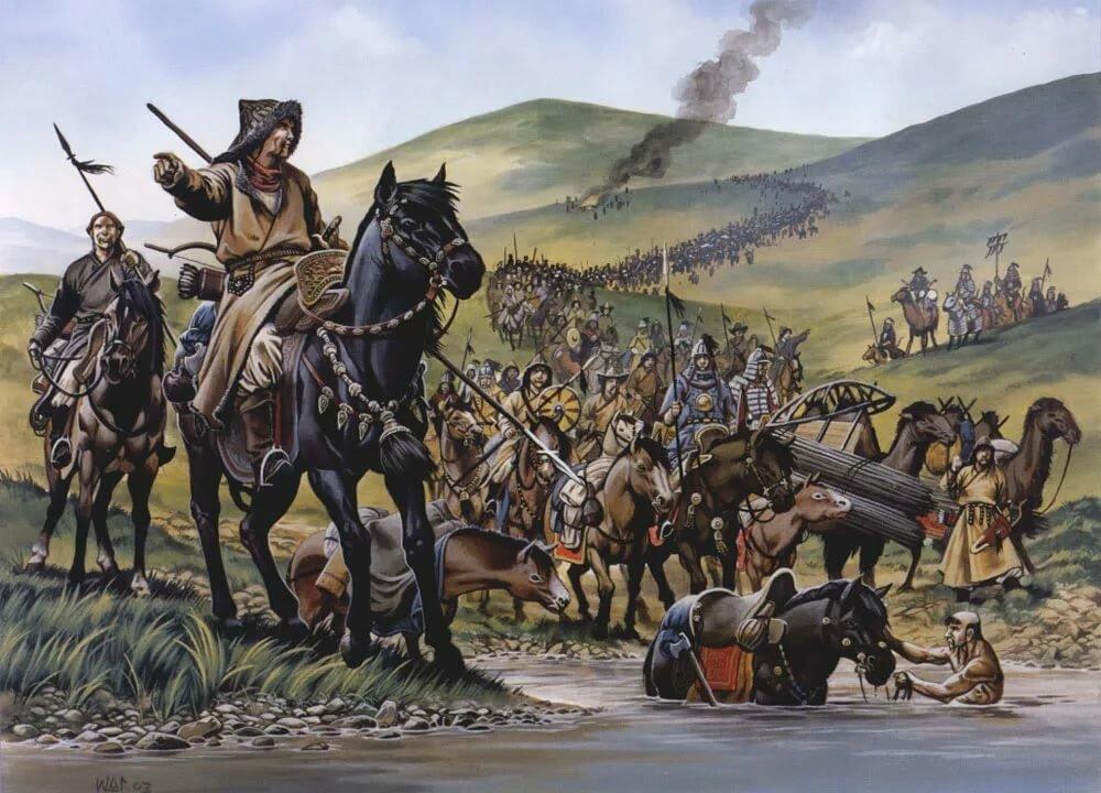 Днем, картинки монгольские войска
