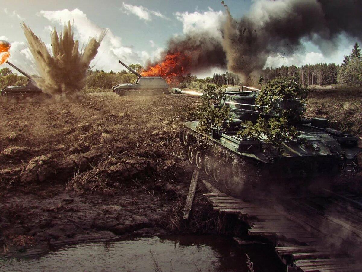 Мигает картинка в танках