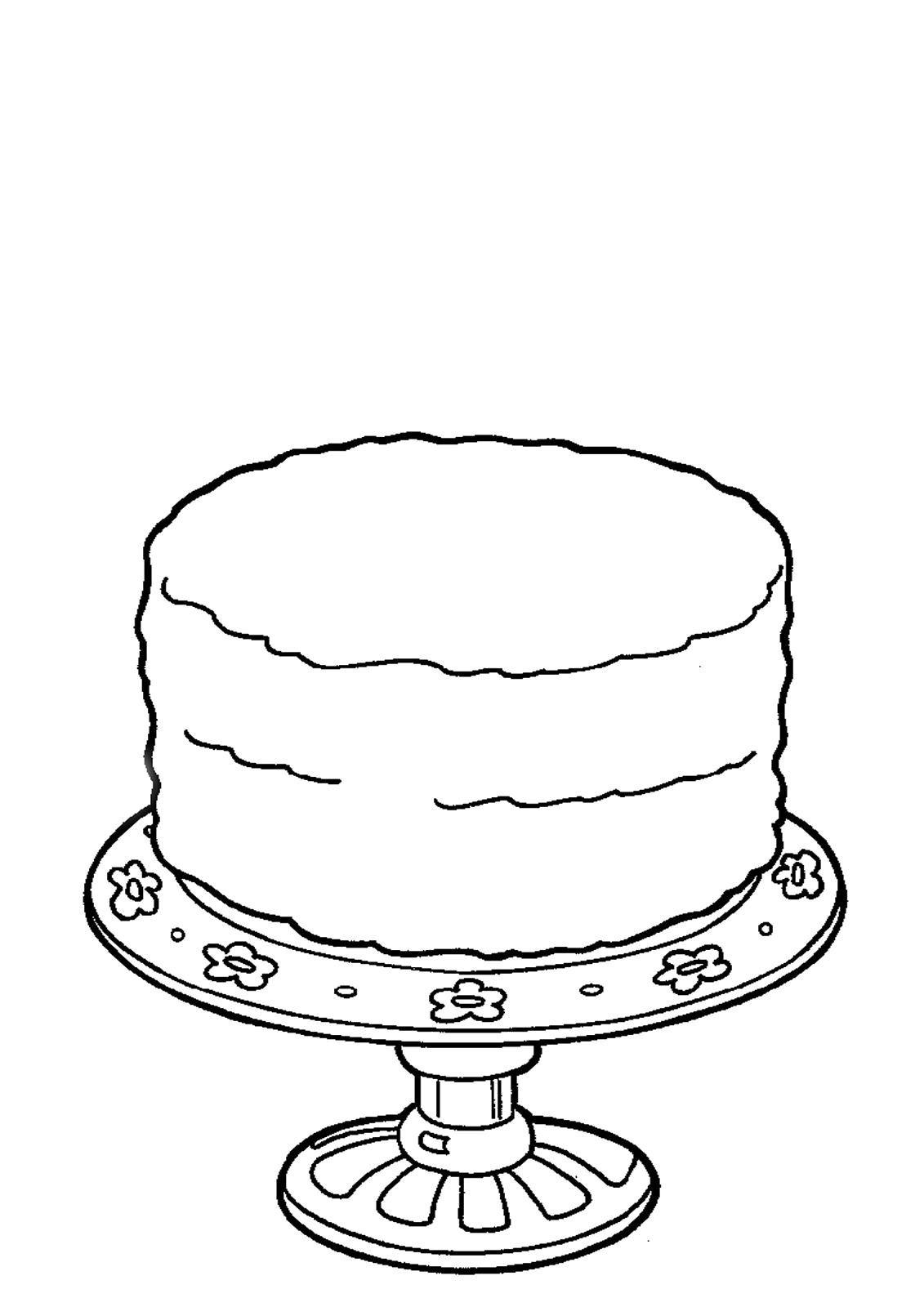 порционное шаблон картинки торта больше обжигаюсь постоянно