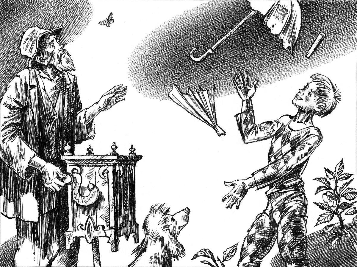 иллюстрации к рассказу белый пудель