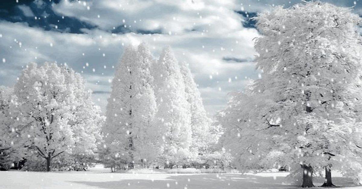 Живые картинки гиф природа зима