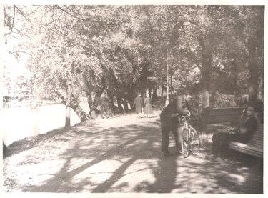 старые фотографии городского парка