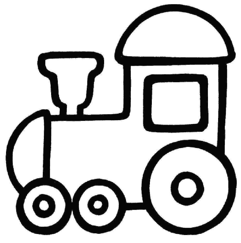 Картинки для раскраски для мальчиков 2-4 года распечатать машинки