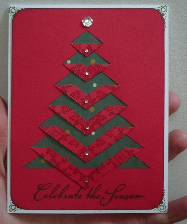 Красивые картинки, открытки треугольники на новый год
