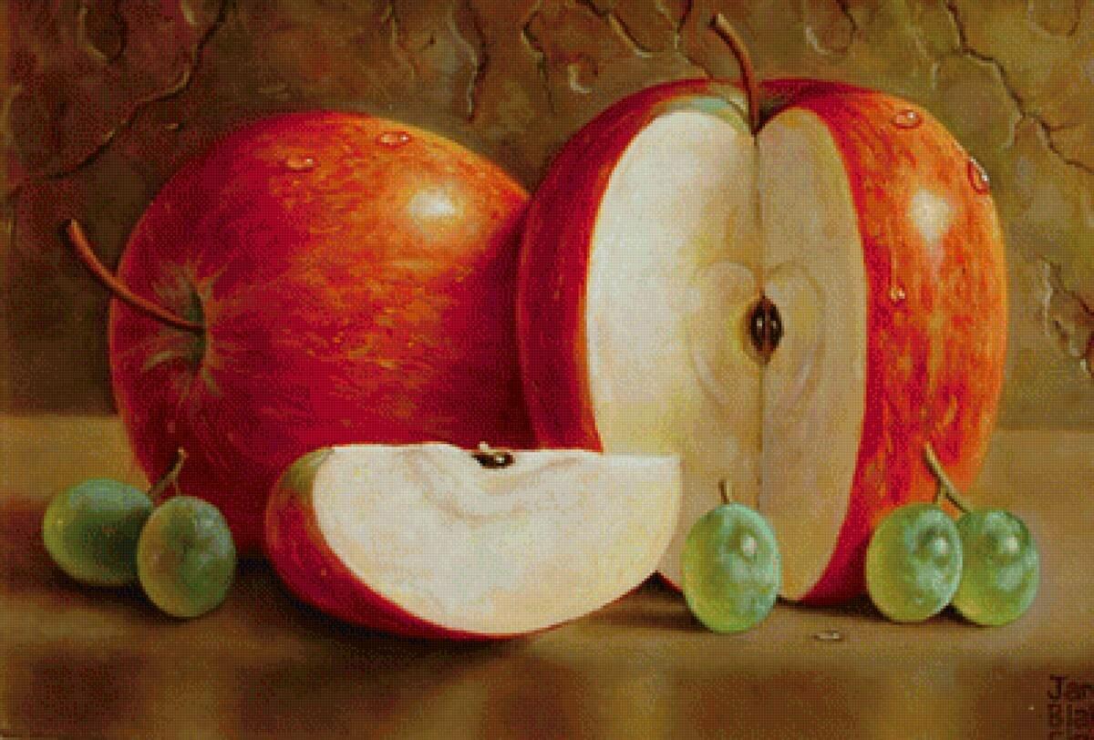 картинки живопись яблоко кино