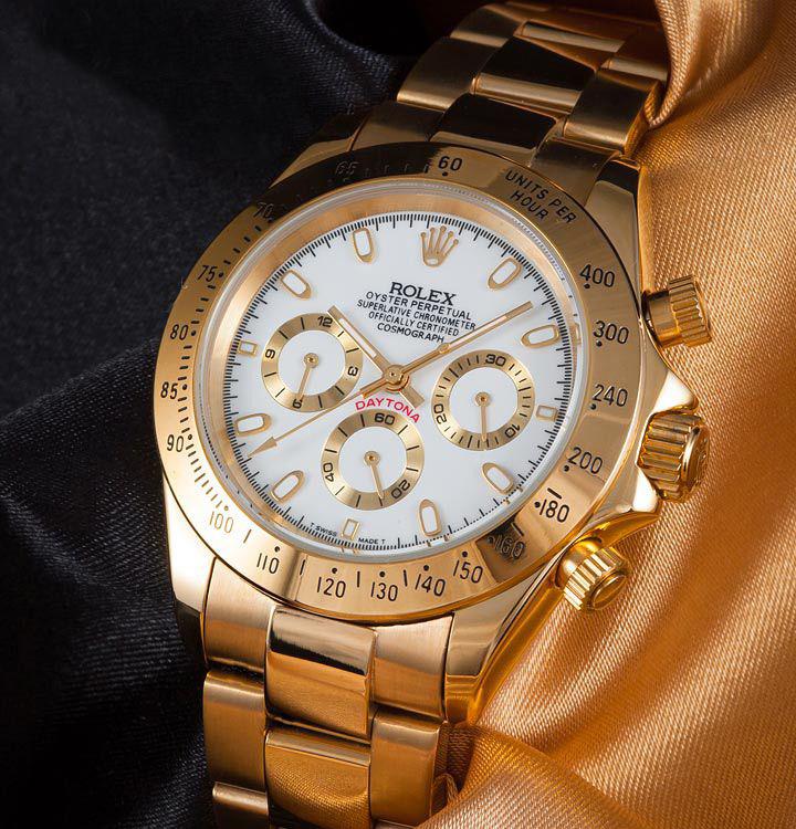 Покупать оригинал конечно стоит, но тогда, когда вы уже носили на руке хорошую реплику под оригиналы, часов rolex моделей daytona или oyster.