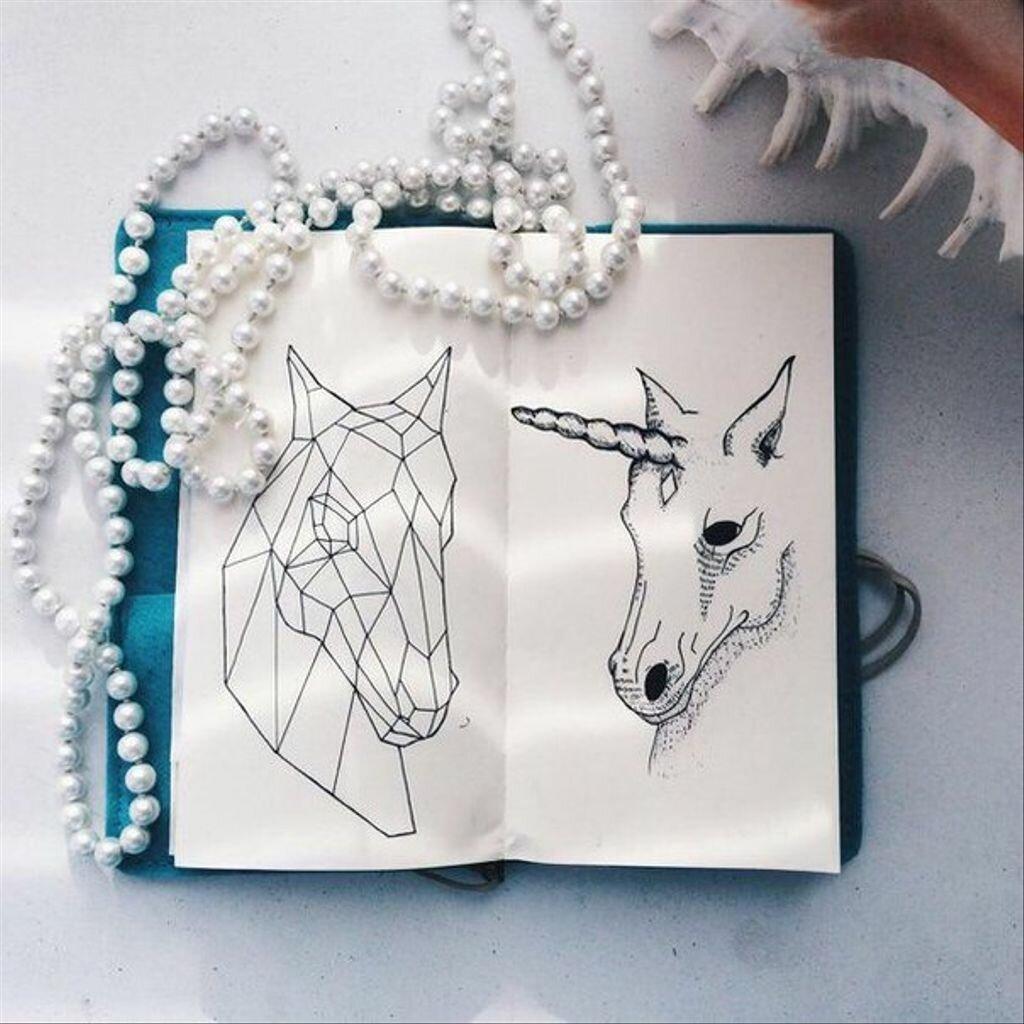 Рисунки для срисовки легкие и красивые картинки для скетчбука единорог, надписью грузинские открытки