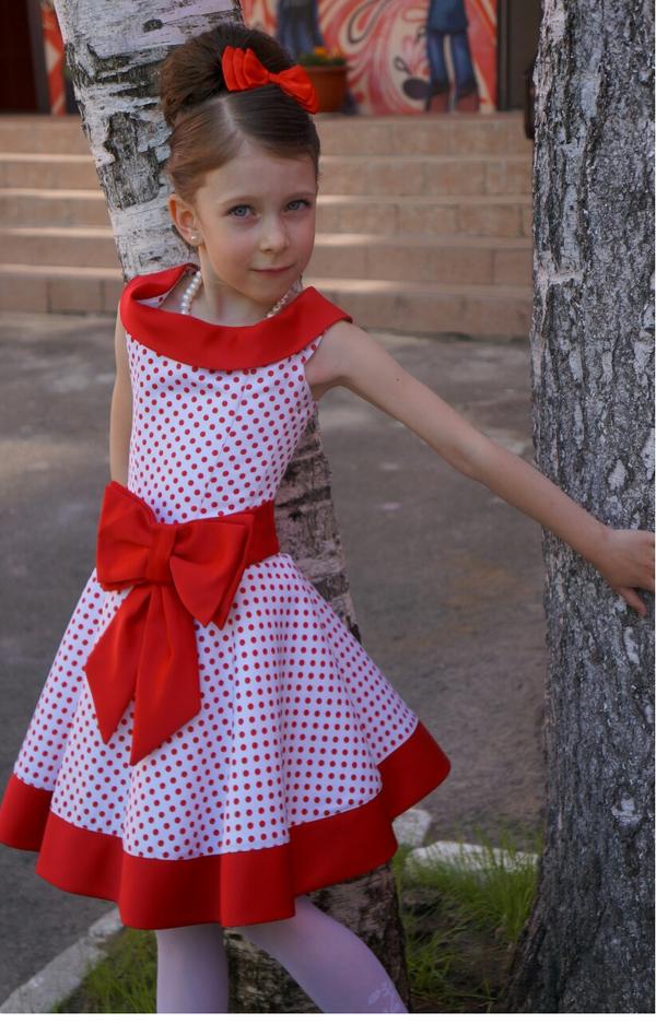 e8cd222e6a0 38 карточек в коллекции «Платья в горошек для девочек» пользователя ...