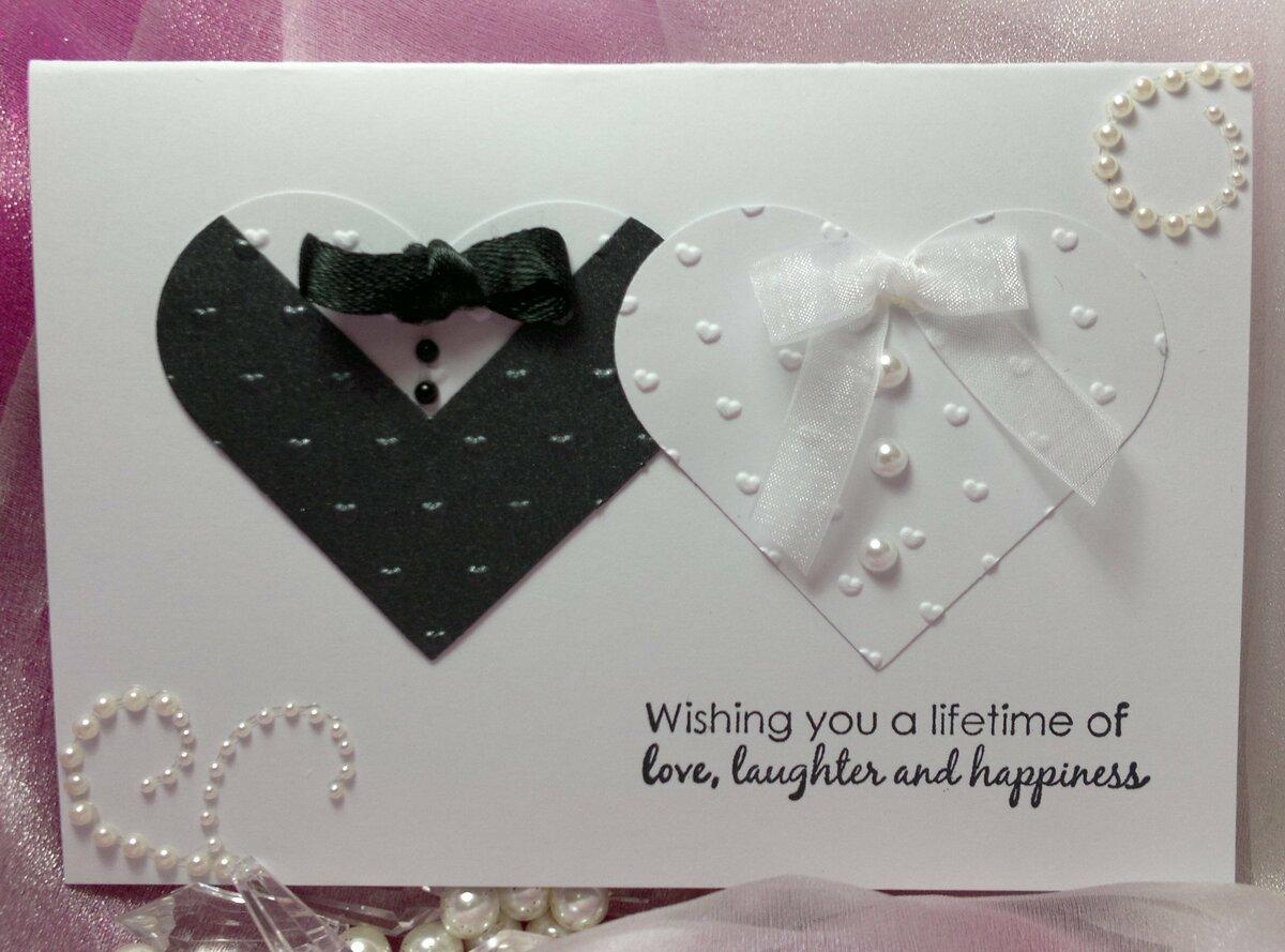 Сделать открытку на свадьбу своими руками 12 лет