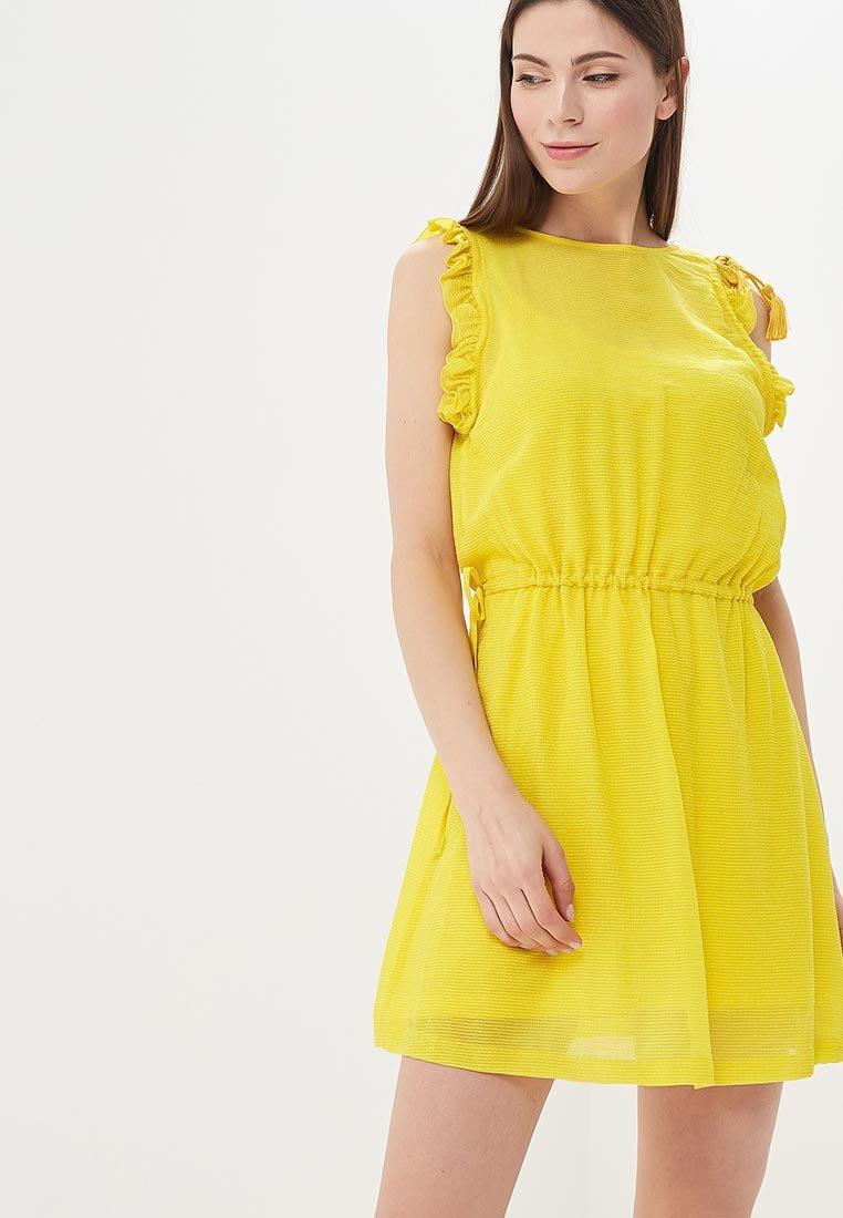 Картинки платьев желтых