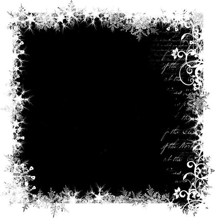 Как сделать рваные края у картинки в фотошопе, гифки днем